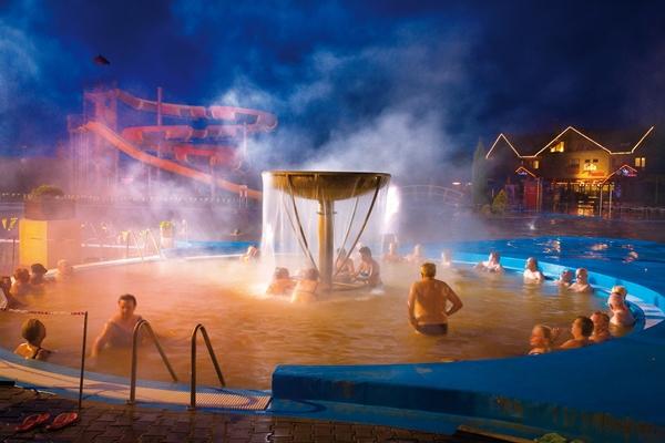 Gino Paradise Bešeňová, vonkajšie bazény