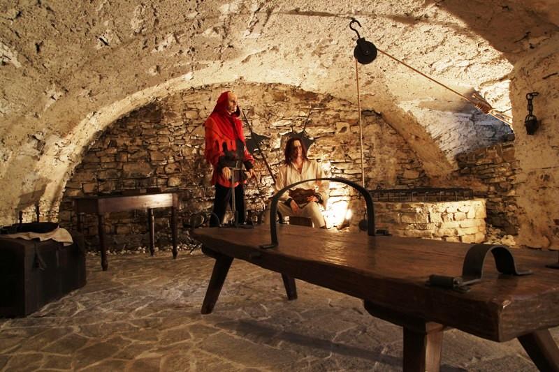 Múzeum Janka Kráľa - expozícia Mikulášska mučiareň