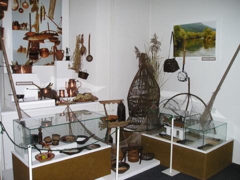 Čierny orol - expozícia Dejiny poľovníctva a rybárstva v Liptove