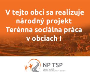 Národný projekt terénna sociálna práca v obciach