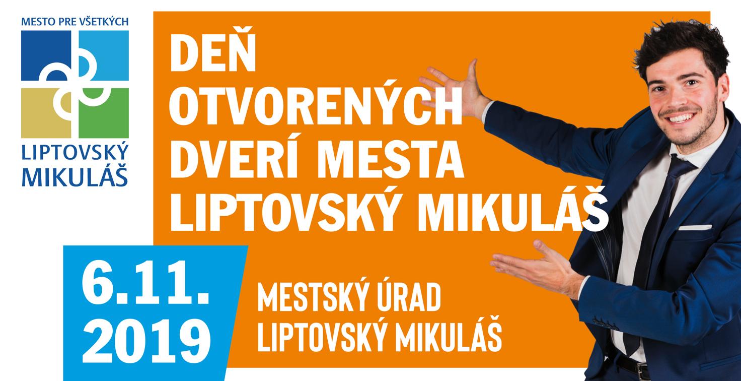 Deň otovrených dverí mesta Liptovský Mikuláš