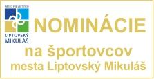 Nominácie na športovcov mesta Liptovský Mikuláš