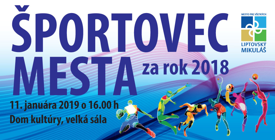 Športovec mesta za rok 2018