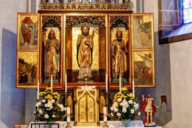 Hlavný oltár sv. Mikuláša