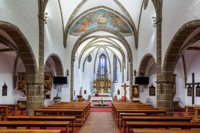 Kostol sv. Mikuláša interiér