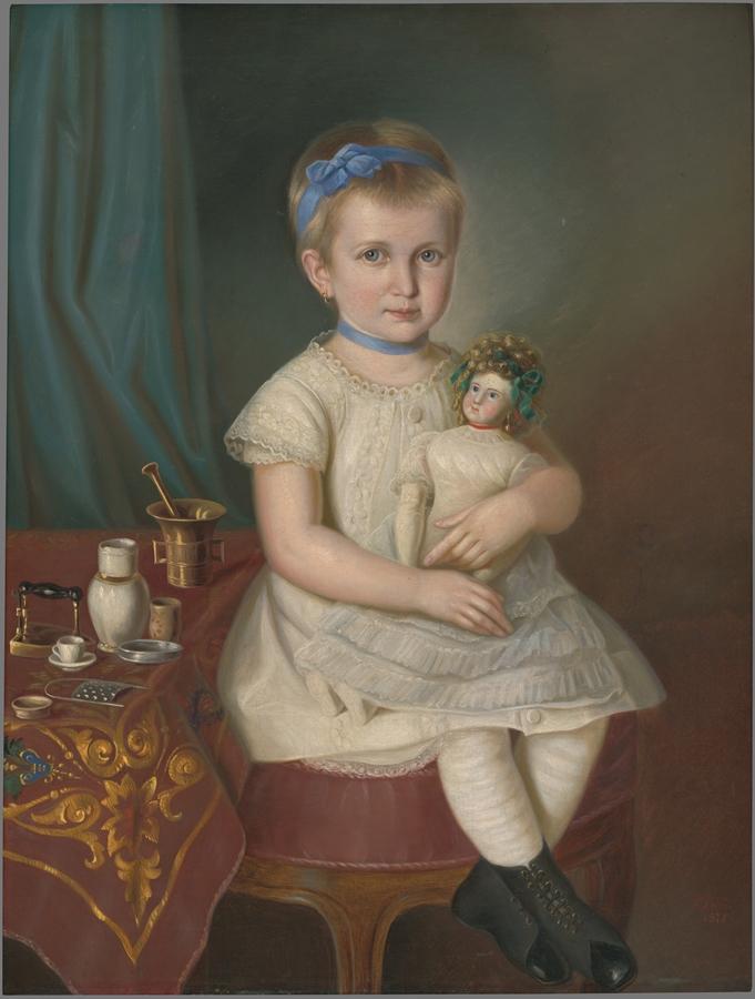 portrét Marienky Medveckej, rok 1877