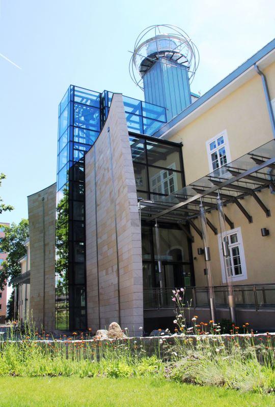 exteriér múzea