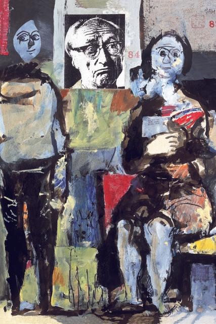 Koloman Sokol - autoportrét