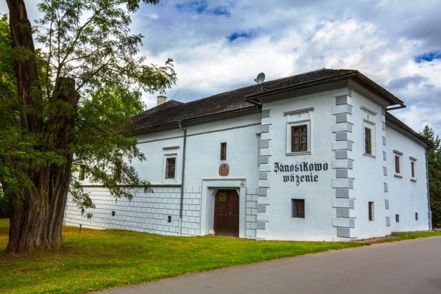 Kaštieľ Vranovo - Jánošíkovo väzenie