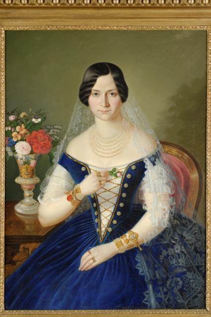 Dielo P. M. Bohúňa - podobizeň Jozefíny Thuranskej