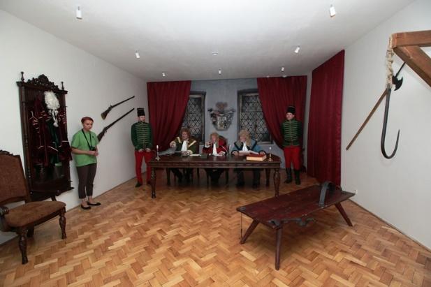 Súdna sieň - Múzeum Janka Kráľa