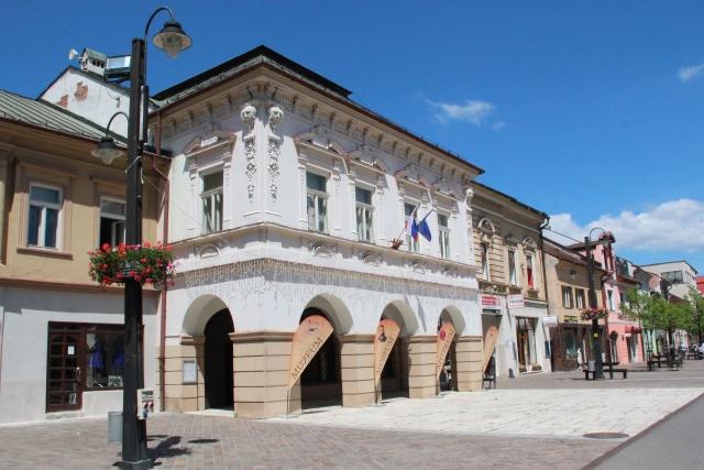 Prvý stoličný dom - dnes Múzeum Janka Kráľa