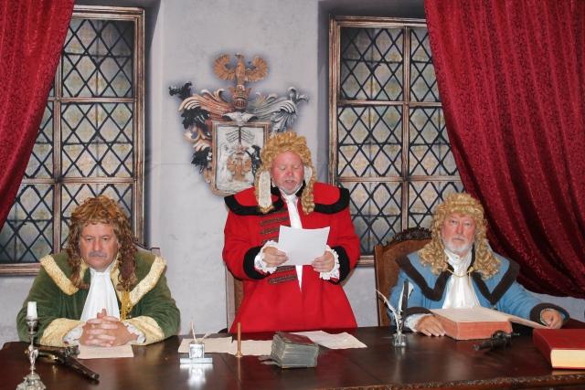 Program Nechaj sa zlapať v Múzeu Janka Kráľa - vynesenie rozsudku