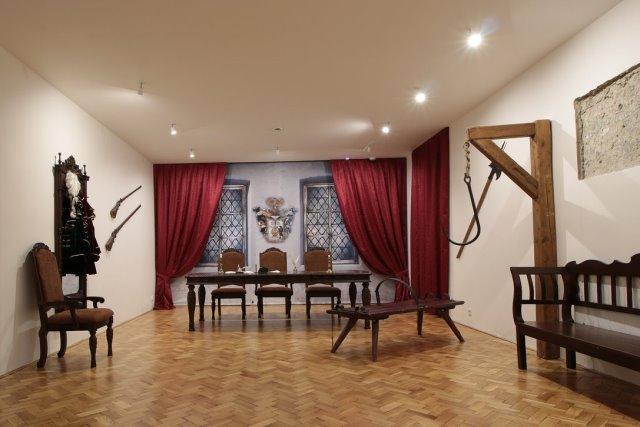 Jánošíkova súdna sieň v Múzeu Janka Kráľa
