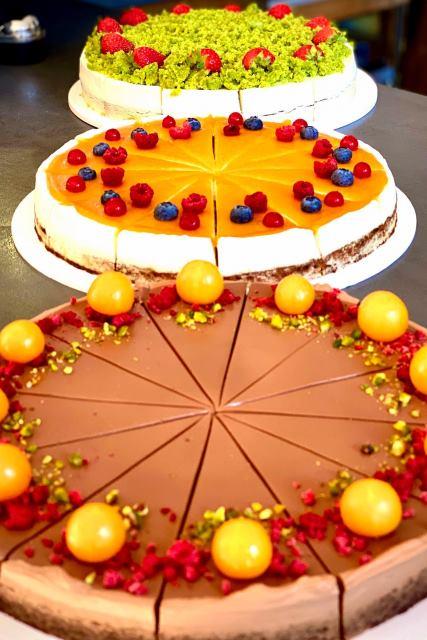 koláče kaviarne Aurelica