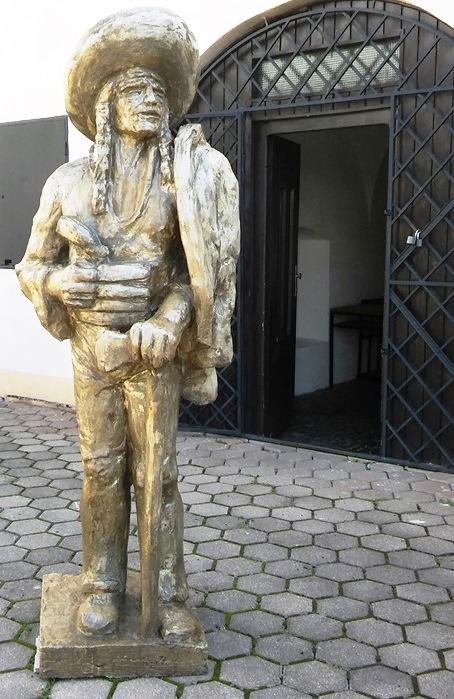 Jánošík - socha v Múzeu Janka Kráľa