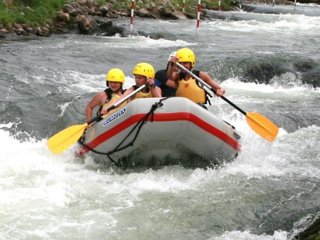 Rafting Areál vodného slalomu O. Cibáka