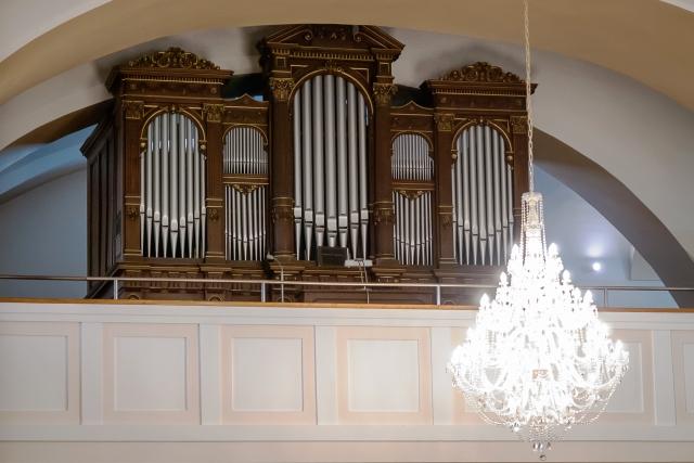 Vzácny organ z roku 1892