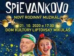 Plagát Spievankovo - rodinný muzikál