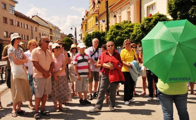 Prehliadková trasa v historickom centre