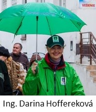 Sprievodkyňa Informačného centra Darina Hoffereková