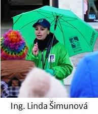 Sprievodkyňa Informačného centra Linda Šimunová