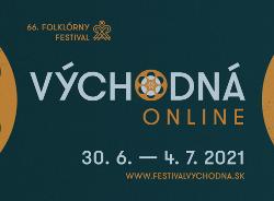 Plagát Folklórny festival Východná