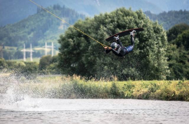 Wakeboarding - Areál vodného slalomu