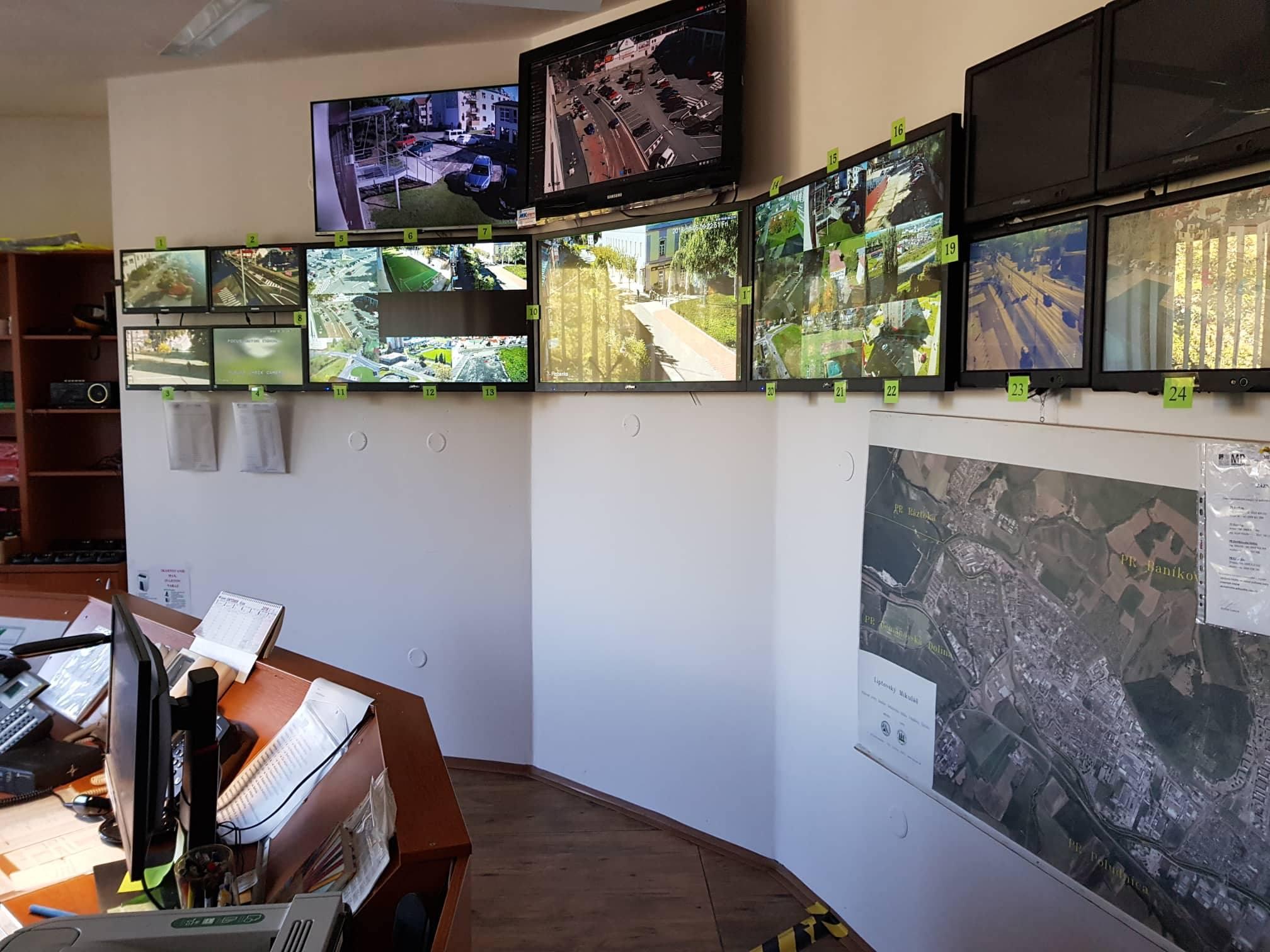 Bezpečnosť a ochrana majetku: V meste inštalujú moderné kamery