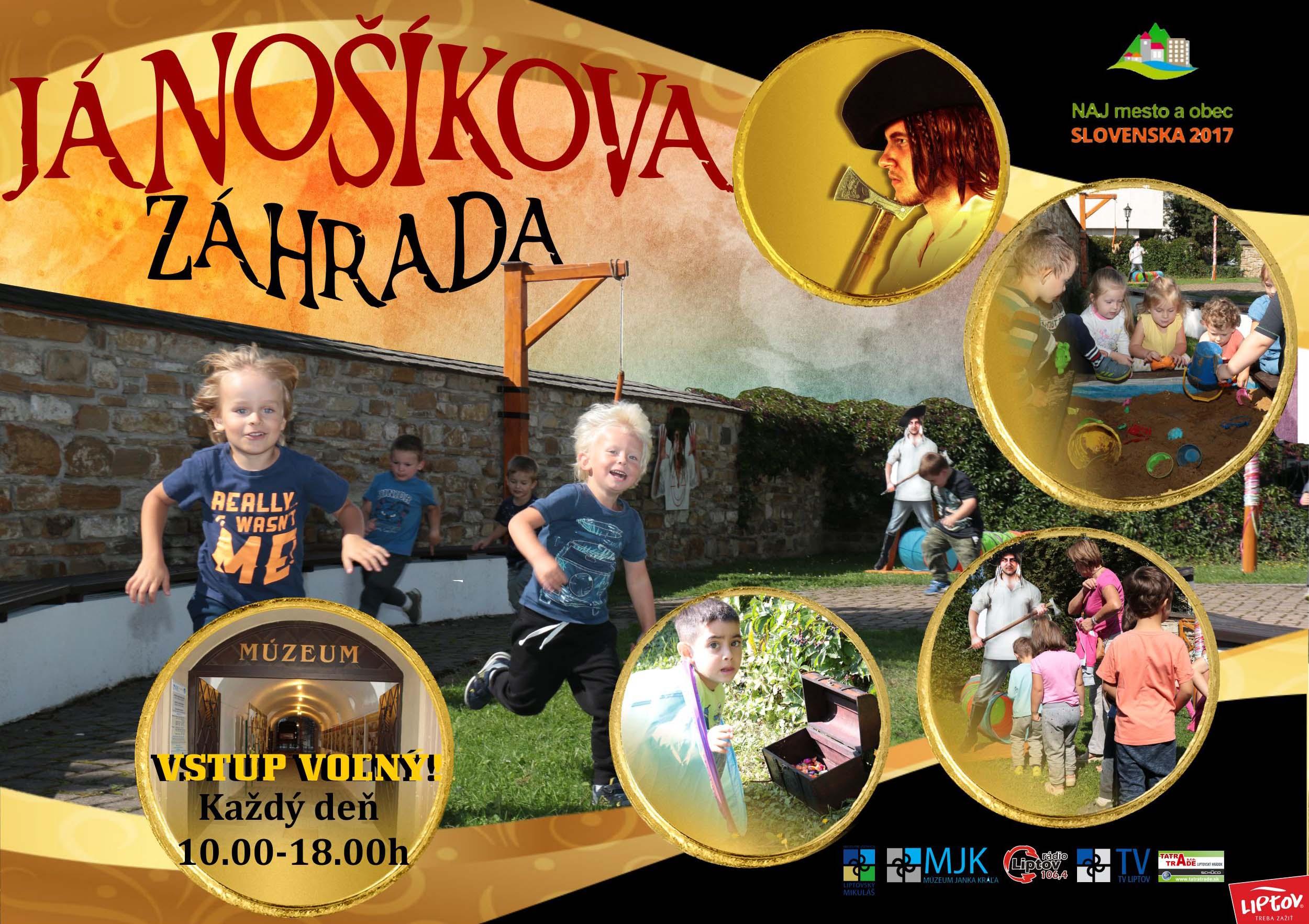 Múzeum sprístupnilo Jánošíkovu záhradu, ktorá je plná atrakcií