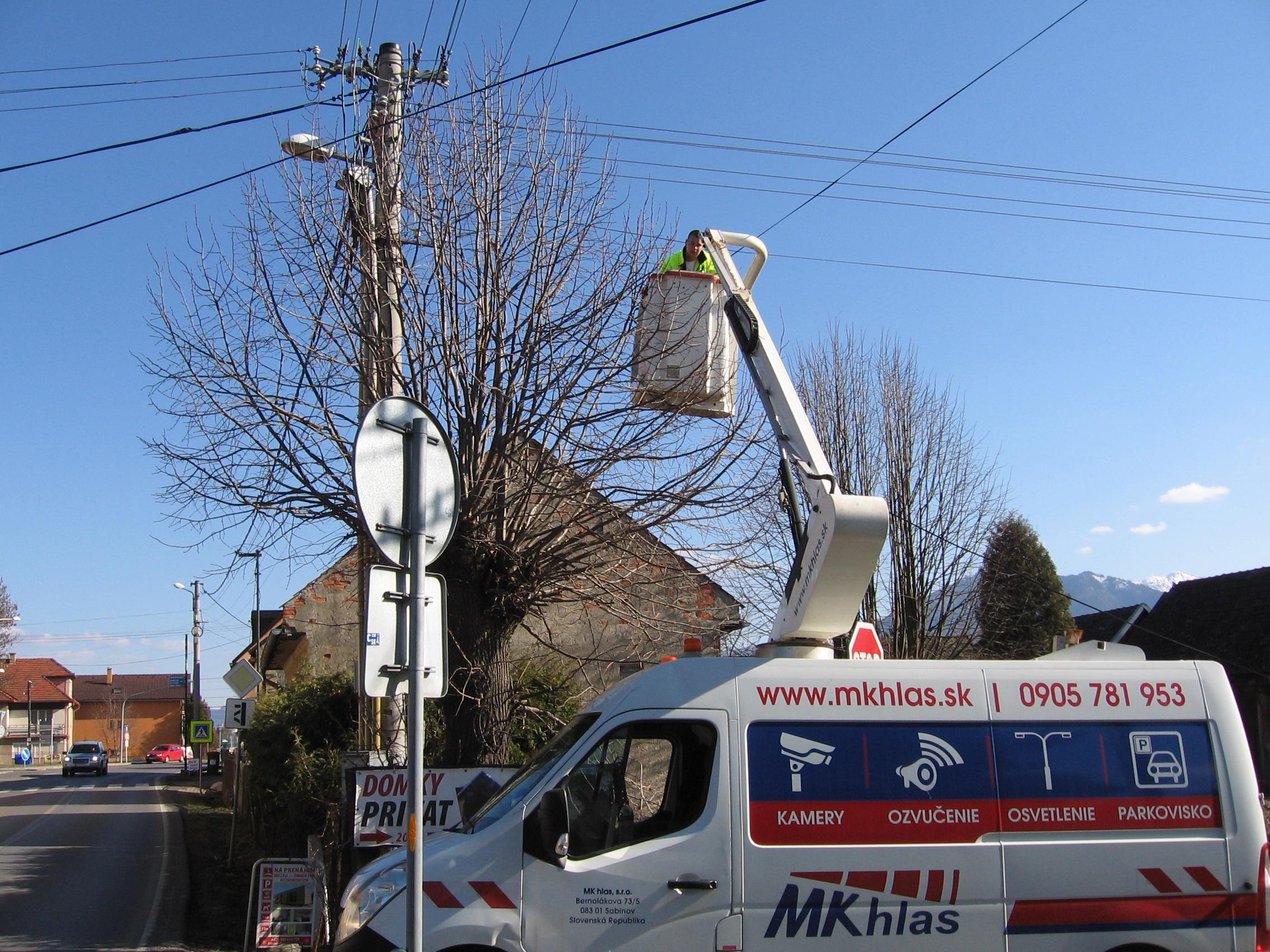 Mesto v týchto dňoch realizuje rozšírenie pokrytia siete mestského drôtového rozhlasu