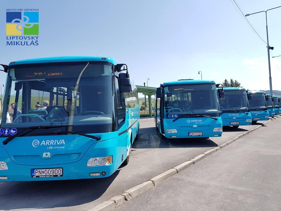 3851d40090 Zmeny v cestovných poriadkoch mestskej autobusovej dopravy nastanú od  pondelka