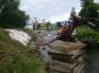 V Ondrašovej zabraňujú povodniam