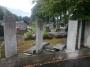 Poškodili oplotenie cintorína
