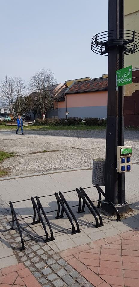 V centre pribudnú nabíjacie miesta pre elektrobicykle