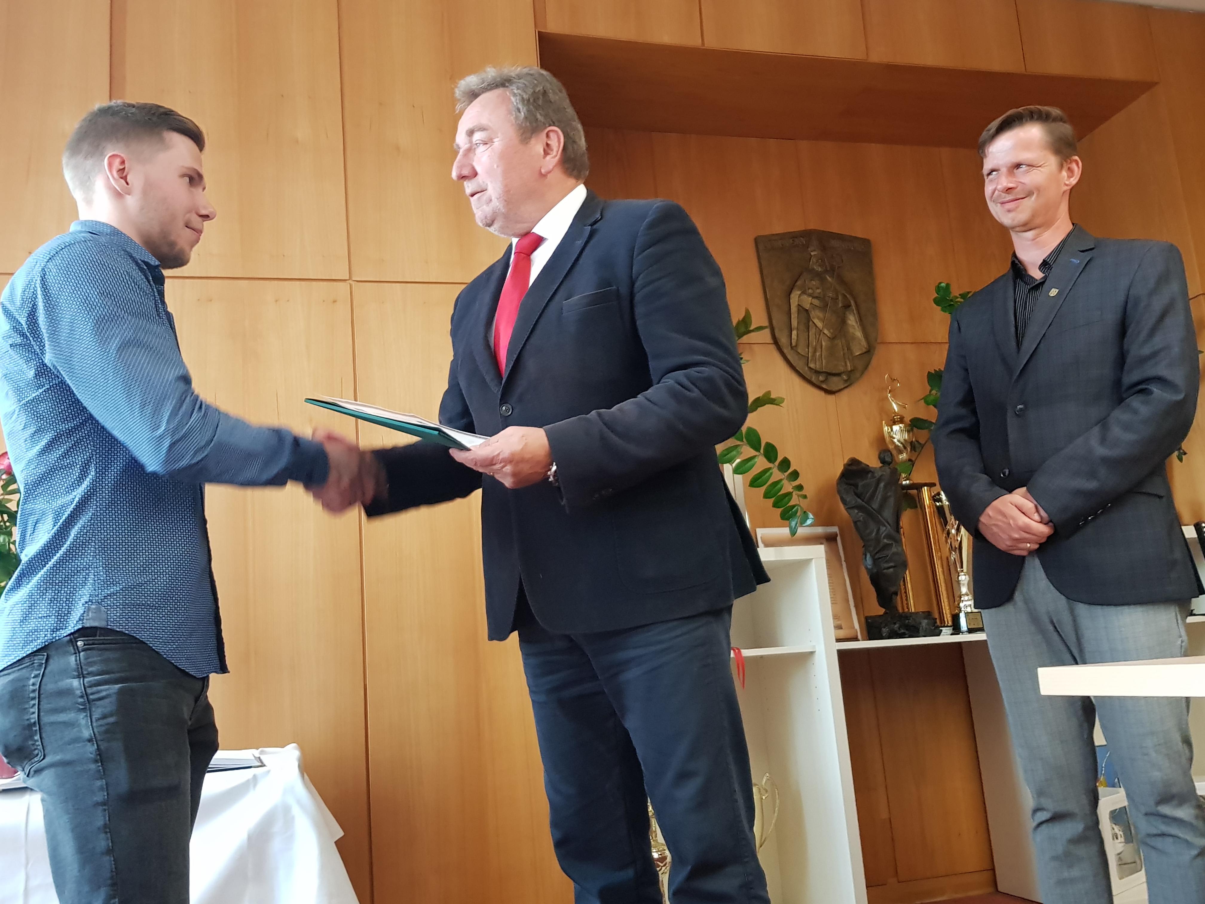 Matúša Sukeľa ocenil primátor vyznamenaním