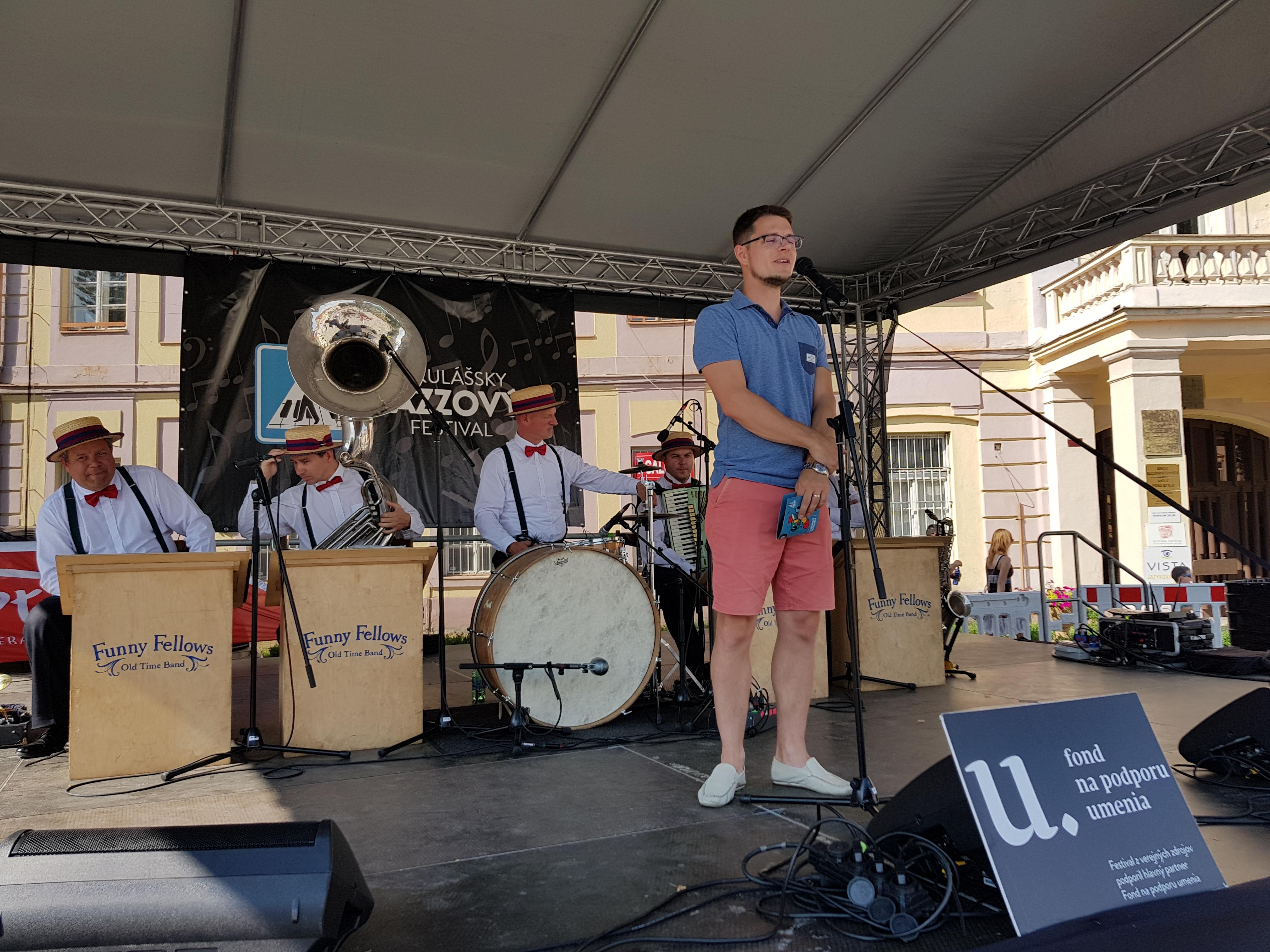 Mikulášsky Jazzový Festival štartoval na námestí