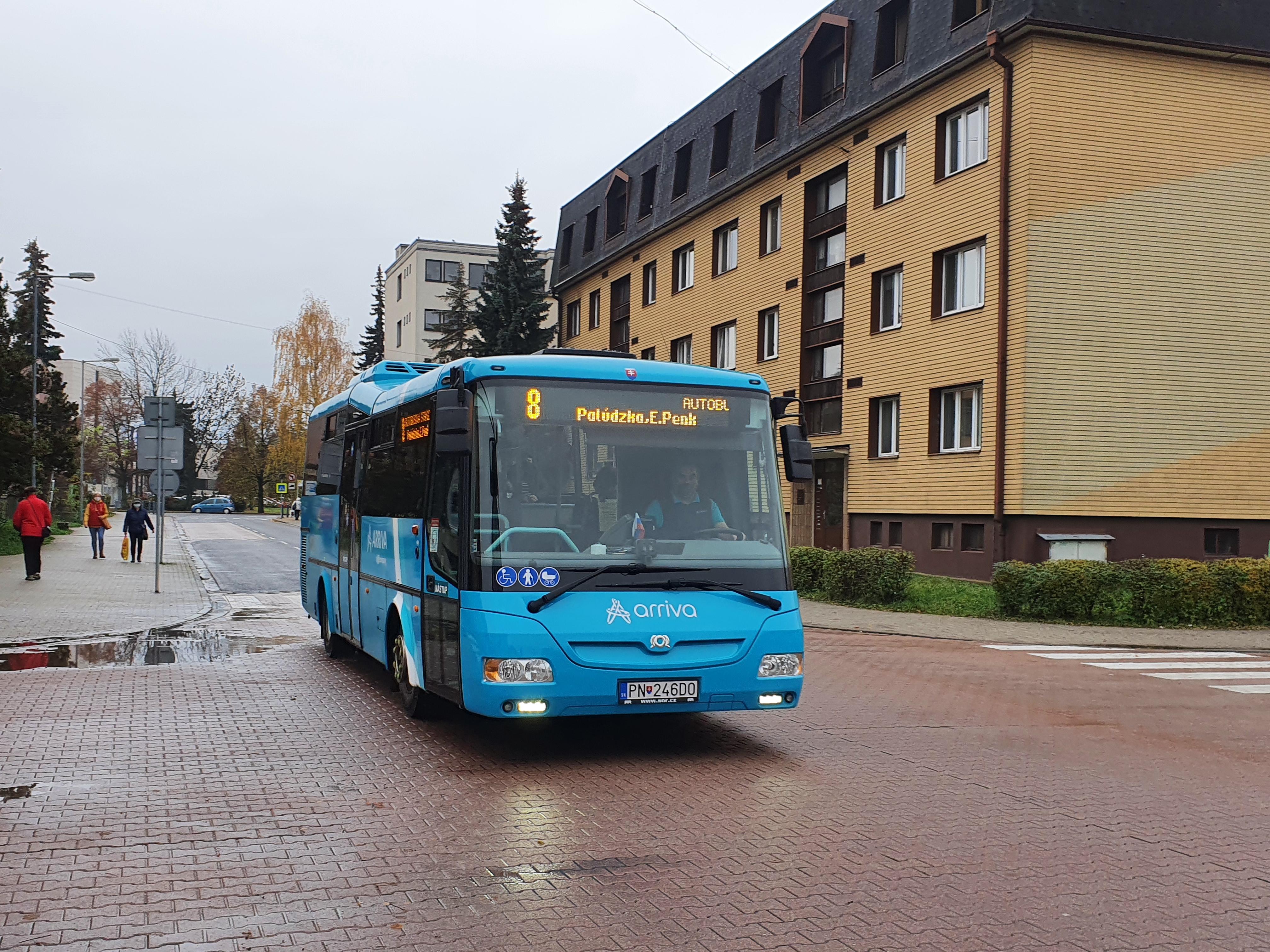 Preprava autobusom v Liptovskom Mikuláši je modernejšia