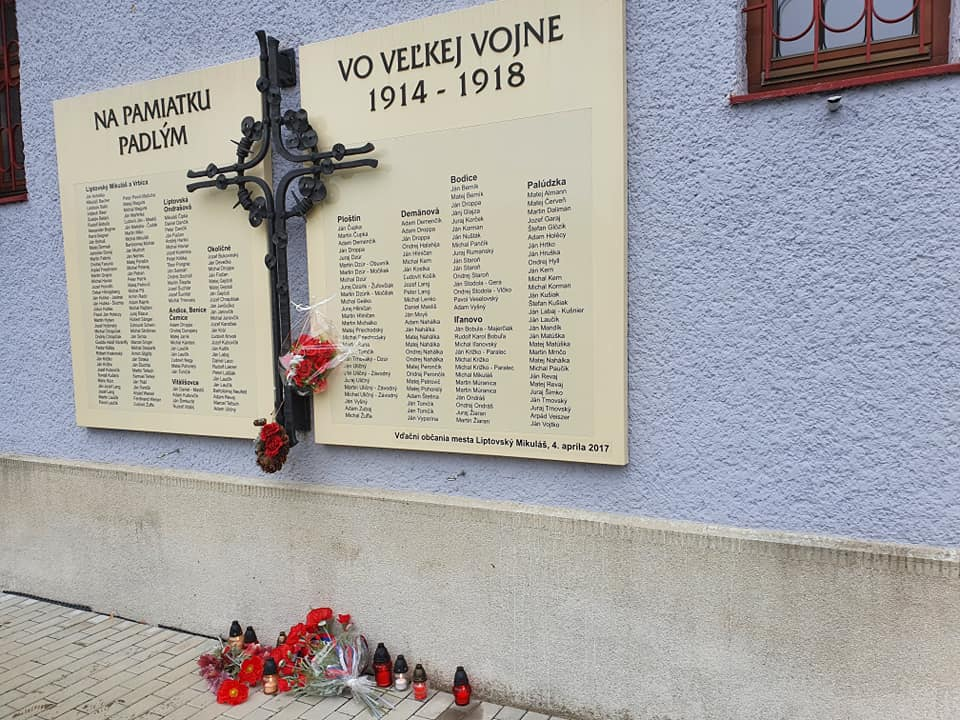 Pripomenuli si ukončenie 1. svetovej vojny: symbolika zostala zachovaná