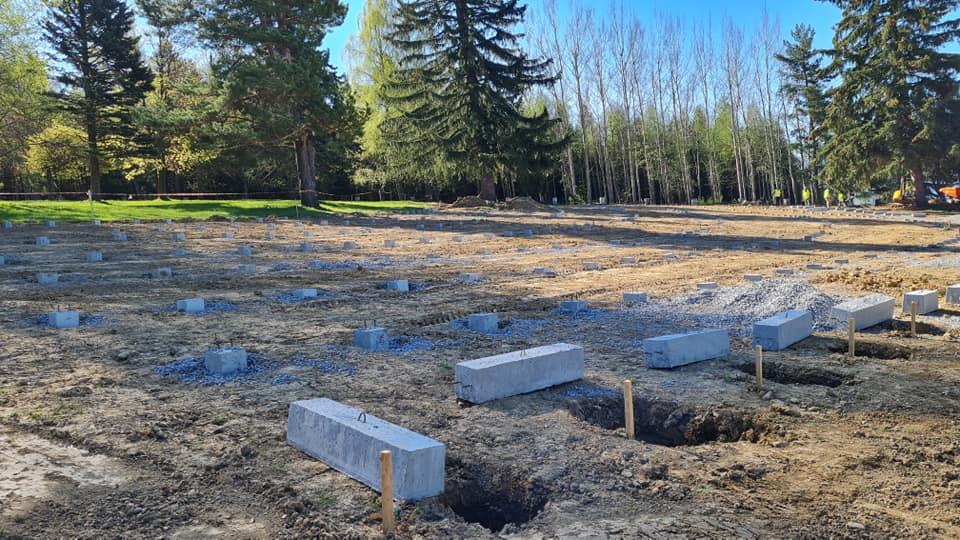 Na rekonštruovanom cintoríne vykopali granát, areál na Háji Nicovô čaká detekcia munície