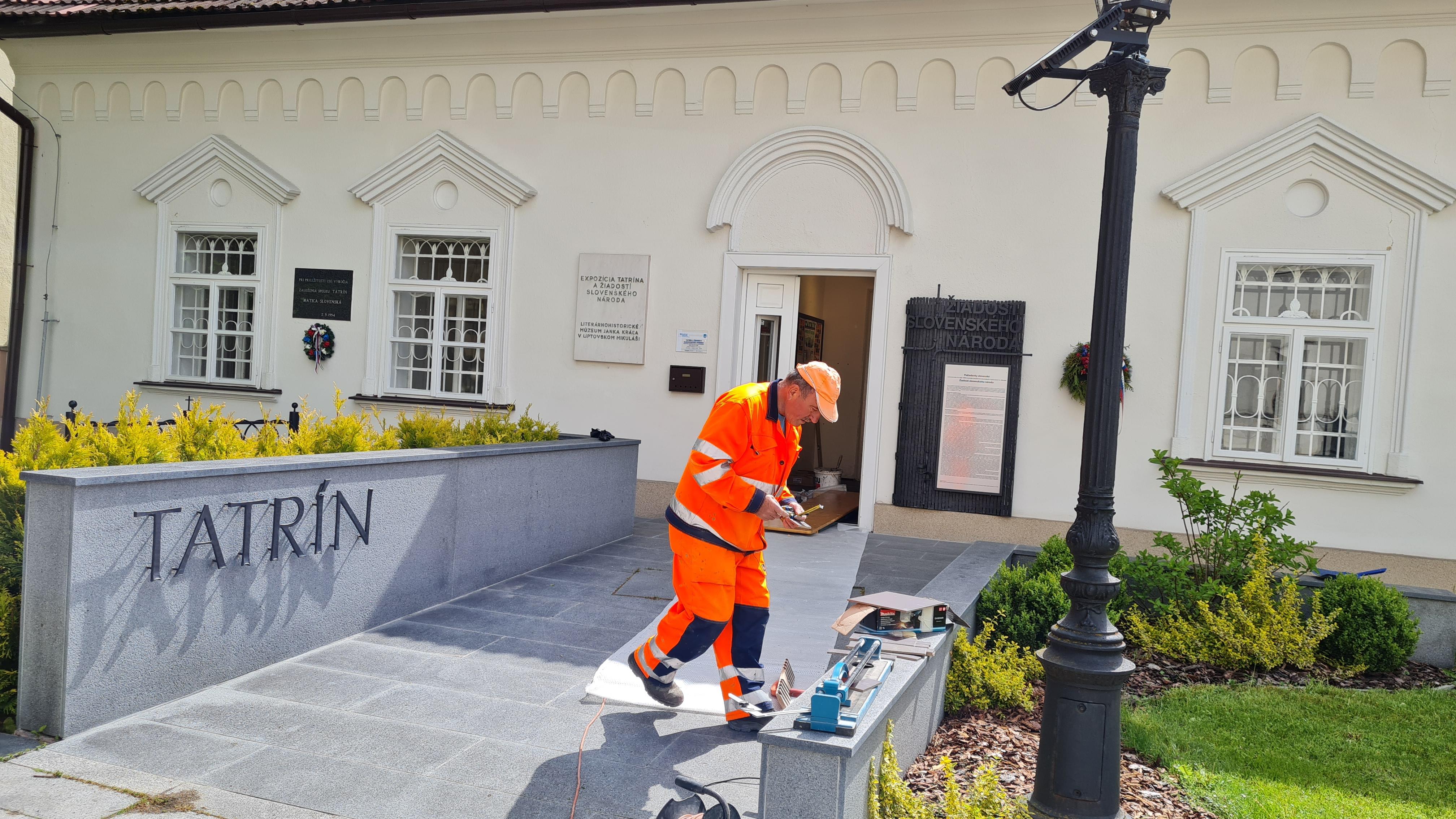 V Tatríne rekonštruujeme, expozícia je stále prístupná