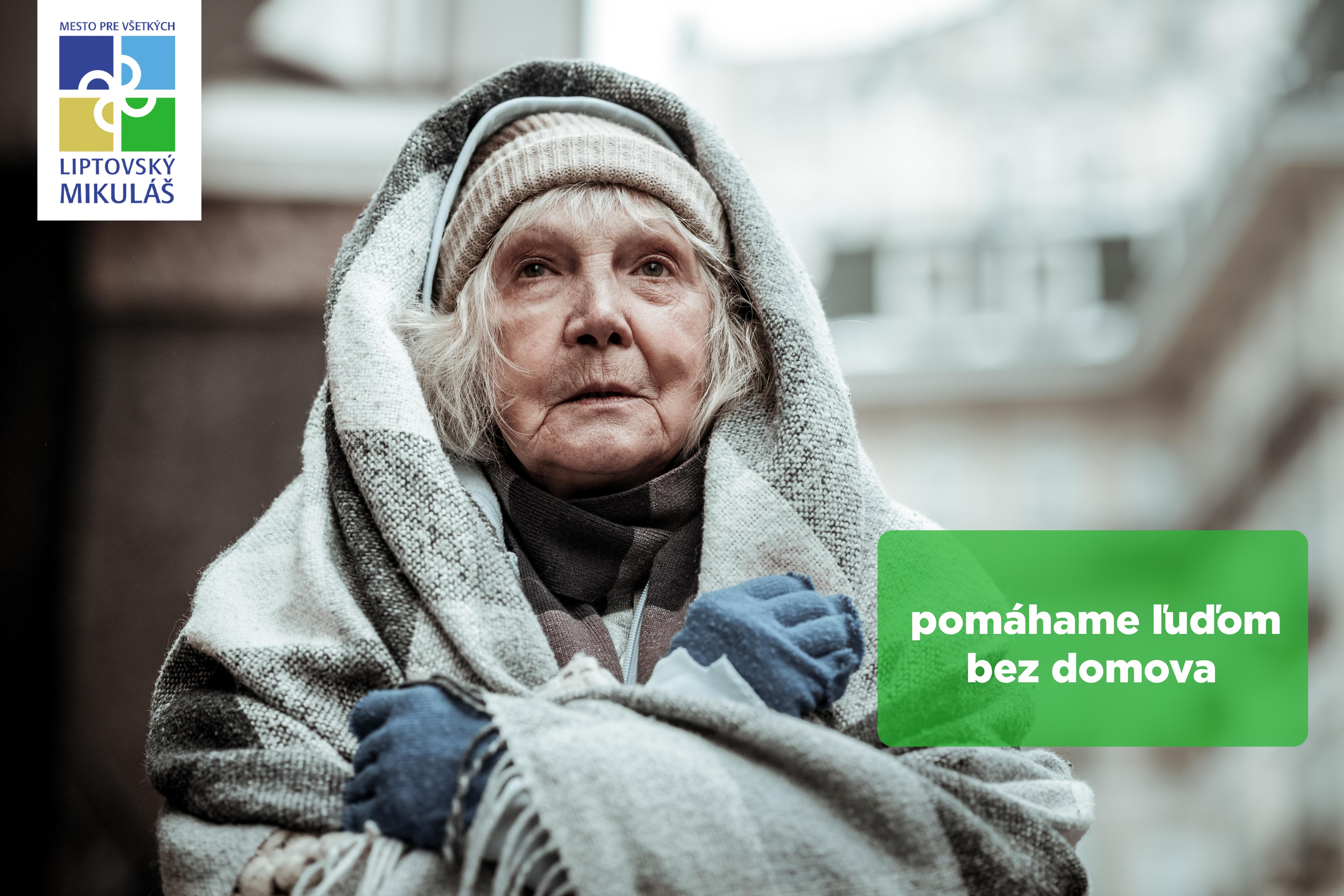 O ľudí bez prístrešia sa počas arktických dní postaráme