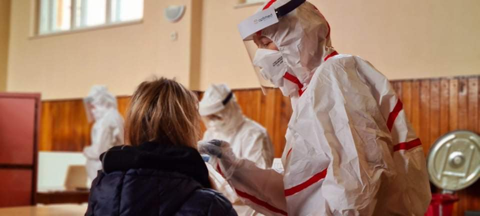 C⭕VID-19: Mesto pripravuje na víkend doplnkové dočasné testovacie miesta